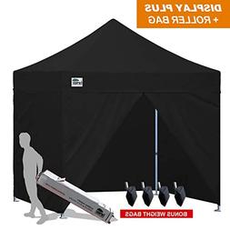 Eurmax 10x10 Ez Pop up Canopy, Commercial Party Tent, Outdoo