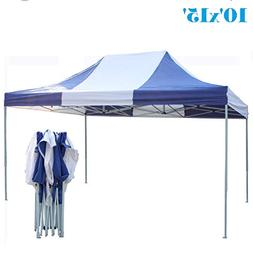 DELTA Canopies 10'x15' Ez Pop Up Canopy Party Tent Instant G