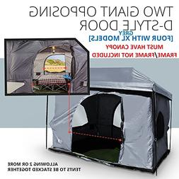 Standing Room 12X12 Family Cabin Tent 8.5 ' OF HEAD ROOM 4 B