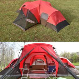 Family Camping Cabin Tent 10-Person Ozark Trail Outdoor Hiki