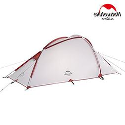 NatureHike Family Camping 3-4 Person Aluminum Tent Waterproo