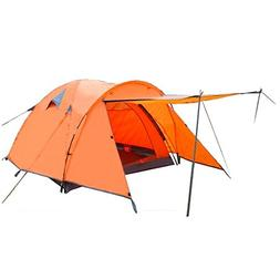 Wakandia FAMILY CAMPING TENT ULTRALIGHT DOUPLE LAYERS 3-PERS