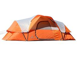 Nassi Equipment Feirr Collection 9-Person Extended Dome Tent