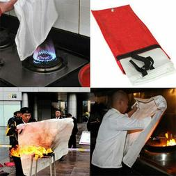 Fire Emergency Blanket Survival Fiberglass Safety Shelter Fl