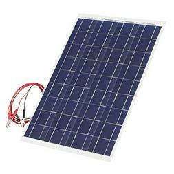 30 Watt Flexible Solar Panel 18V 12V Portable Polycrystallin