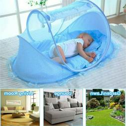 Foldable Baby Bed Mosquito Net Netting Play Tent House Set f