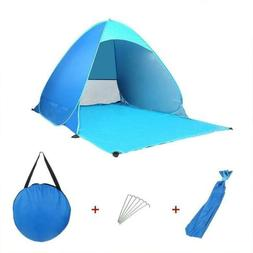 Foldable Pop Up Beach Canopy Sun Shade Shelter Camping Fishi