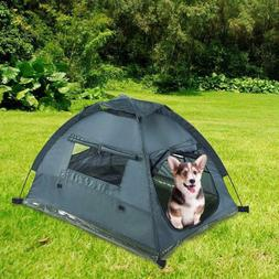 Foldable Portable Travel Cage Smart Pet Camping Tents Dog Pu