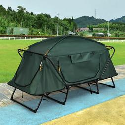Folding 1 Person Elevated Camping Tent Cot Waterproof Hiking