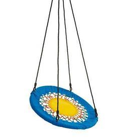 HearthSong® Funshine Round Platform Tree Swing for Yard Pla