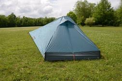 LightHeart Gear Duo Tent w/carbon fiber tent poles and foot