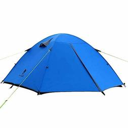 GEERTOP 3-4 Season Tent for Camping 2-3 Person Double Layer