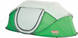 Green 4-Person Pop-Up Tent Lightweight Outdoor Camping Hikin