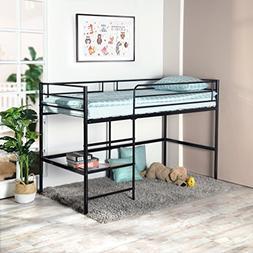 greenforest metal loft bed