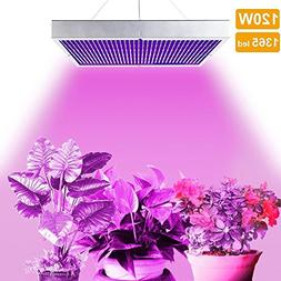 LVJING® 120W Led Grow Light Panel - Indoor Plant Light Bulb