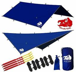 CHILL GORILLA 12' HAMMOCK RAIN FLY TENT TARP Waterproof Camp