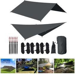 Hammock Rain Fly Waterproof <font><b>Tent</b></font> Tarp <f