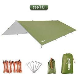 Unigear Hammock Rain Fly Waterproof Tent Tarp Camping Backpa