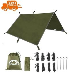 Hammock Rain Fly Waterproof Tent Tarp Sunshade UV Protection