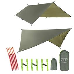 Gold Armour Hammock Tent Fly Tarp Waterproof