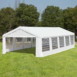32'x16' Heavy Duty Outdoor Carport Canopy Wedding Party Tent