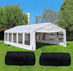 Quictent 32' x 16' Heavy Duty Carport Party Wedding Tent Can