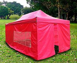 New MTN Gearsmith Heavy Duty Ez Canopy Pop up Tent Canopy Sh