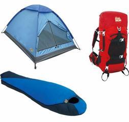Alpinizmo High Peak USA Extreme Pak 0F Sleeping Bag 3 Men Te