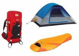 Alpinizmo High Peak USA Ultra Lite 0F Sleeping Bag + 5 Men T