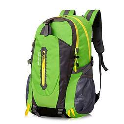 MUTANG Hiking Backpack Multi-Functional Water-Resistant Ruck