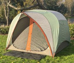 REI Hobitat 4 Three Season Tent & Footprint Mint Used 1x Con