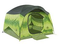 Big Agnes Big House Deluxe Camping Tent, Green Leaf, 4 Perso