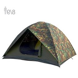 NTK HUNTER GT 8 to 9 Person 10 by 12 Foot Outdoor Dome Woodl