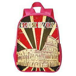 iPrint Personalized Customization Trumpet Red Backpack 03fb968c56f58