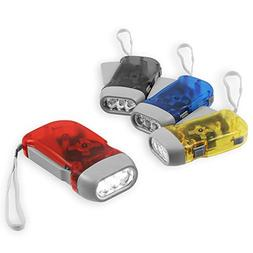 Chromo Inc Immedia-Light Hand Crank Flashlight 4 Pack of Imm