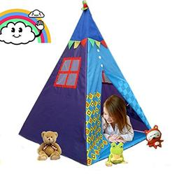 COFFLED Indian Teepee Baby Playhouse For Indoor& Outdoor . F