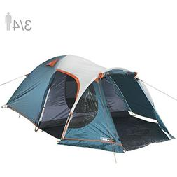 NTK INDY GT 3 to 4 Person 12 by 7 Foot Outdoor Dome Family C