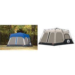 Coleman Instant 8 Person Tent, Black, 14x10-Feet w Accy Rain