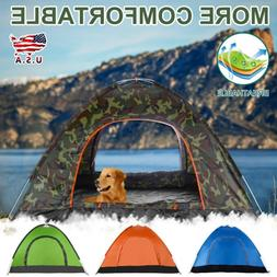 Instant Automatic Pop Up Waterproof 3-4Person Tent Camping B