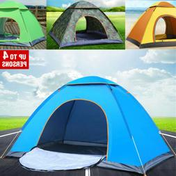 Instant Automatic Pop Up Waterproof Portable Tent Camping Be