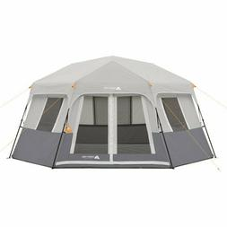Instant Cabin Tent Ez Set Pop Up Hexagon 8 Person Outdoor Ca