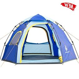 HUI LINGYANG Outdoor Instant Family Tent 5 Person Automatic