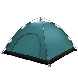 Everking Instant Family Tent 3-4 Person Automatic Pop Up Ten