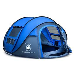 Rxlife Instant Pop Up Camping Tent for 3 Person Automatic Hi