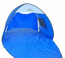 Instant Pop-up Family Beach Tent Cabana Shade and Sun Shelte