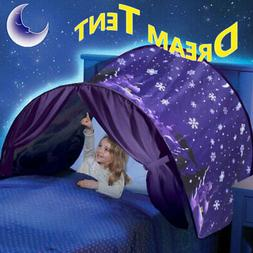 Kids Bed Dream Tents Foldable Outdoor Unicorn Fantasy Baby L