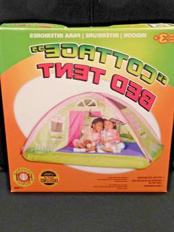 """PACIFIC PLAY TENTS KIDS """"COTTAGE"""" BED TENT PLAYHOUSE - Full"""