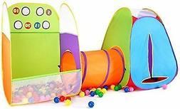 Alvantor Kids Tent Fun Toss It Game Zone 3-in-1 Pop Up Tent