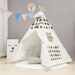 Kids Play Tent Teepee Indian Baby Boys Girls Children Playhu
