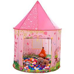 Anyshock Kids Large Tent, Princess Castle Play Tent Girls Po